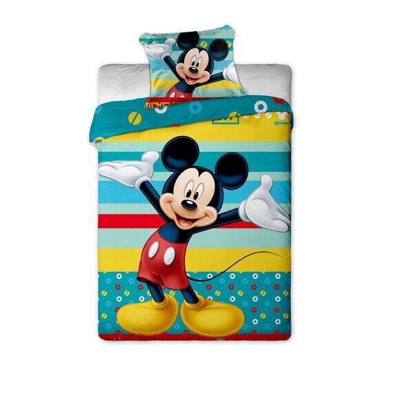 Mickey Egér Tyrkys 2 részes Disney pamut-vászon ágyneműhuzat