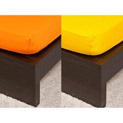 Gyermek Jersey orange gumis lepedő 70x140 cm