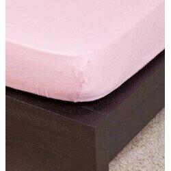Gyermek Jersey roza light gumis lepedő 70x140 cm