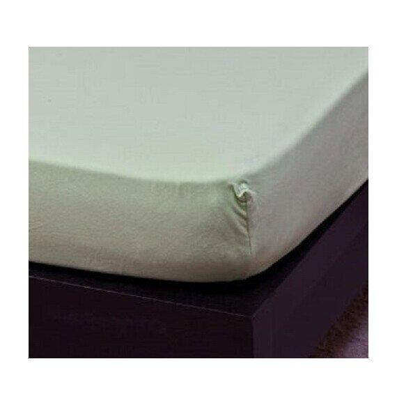 Pamut Jersey kiwi gumis lepedő 100x200 cm