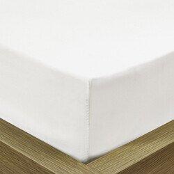 Pamut Jersey fehér gumis gyerek lepedő 70x140 cm