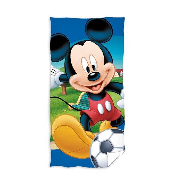 Mickey egér focizik pamut törölköző 70x140 cm