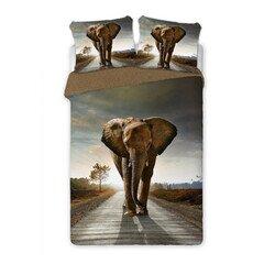Elefánt 3 részes pamut-perkál ágyneműhuzat