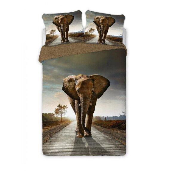 Elefant 3 reszes pamut-perkal agynemuhuzat