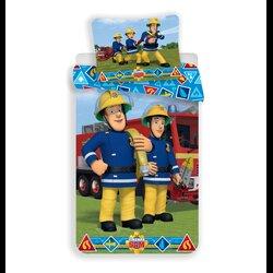 Sam a tűzoltó II 2 részes pamut-vászon ágyneműhuzat