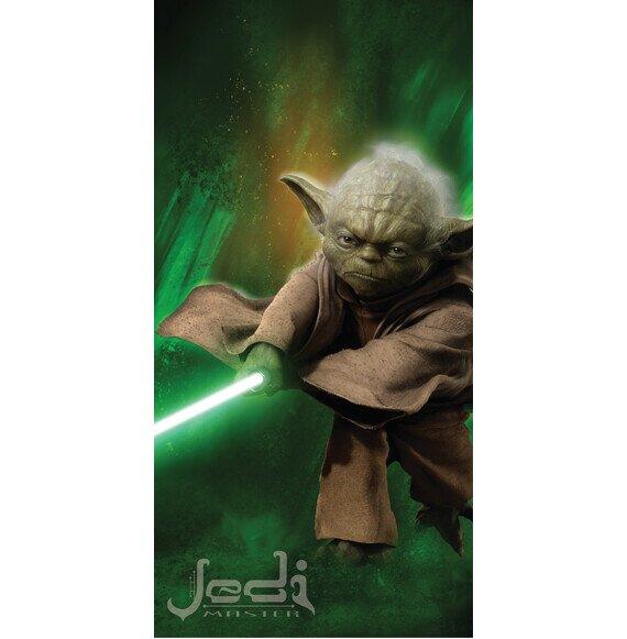 Star Wars Joda pamut torolkozo 70x140 cm