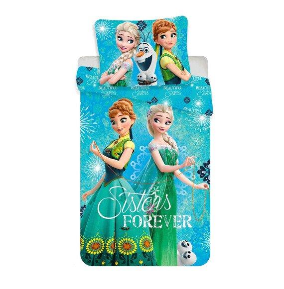 Jégvarázs örökké nővérek 2 részes Disney pamut-vászon gyerek ágyneműhuzat