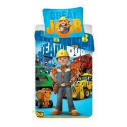 Bob a mester 2 részes Disney pamut-vászon gyerek ágyneműhuzat
