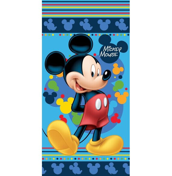 Mickey blue Disney pamut törölköző 70x140 cm