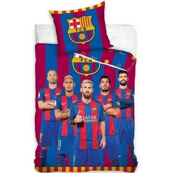 FC Barcelona csapat 2 részes pamut-vászon ágyneműhuzat
