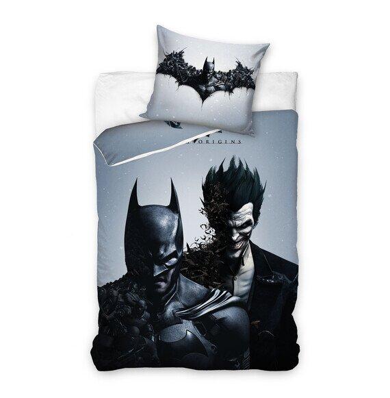 Batman 2 részes pamut-vászon ágyneműhuzat