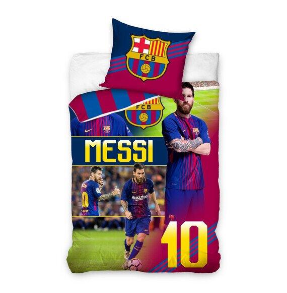FC Barcelona Messi 2 részes pamut-vászon ágyneműhuzat