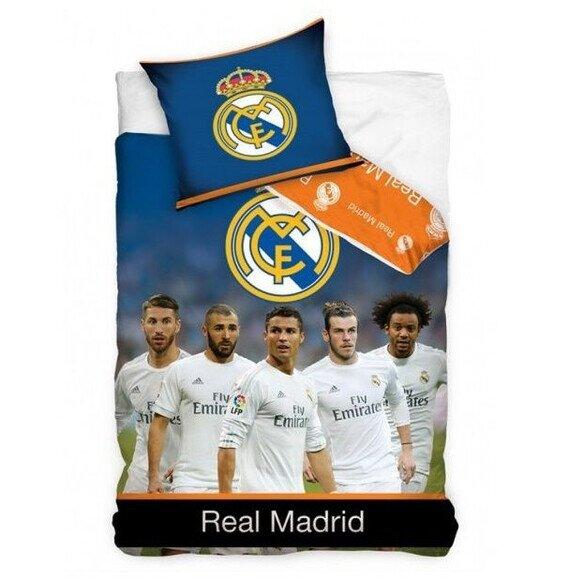Real Madrid foci csapat 2 reszes pamut-vaszon agynemuhuzat