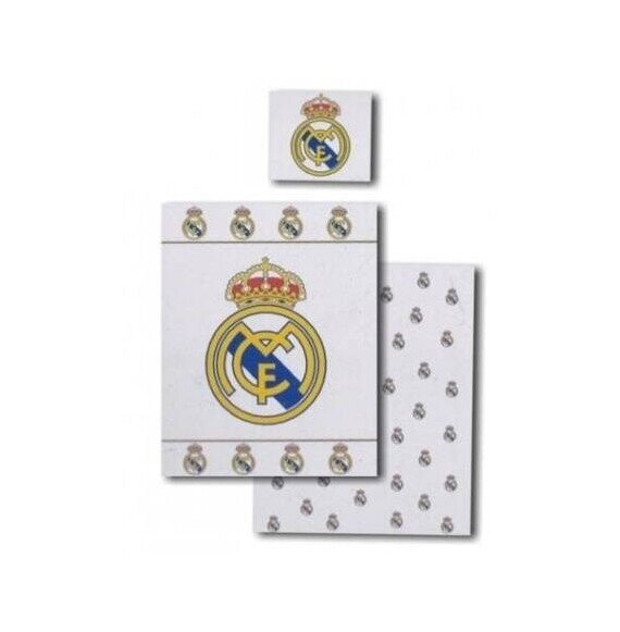 Real Madrid 2 reszes pamut-vaszon agynemuhuzat