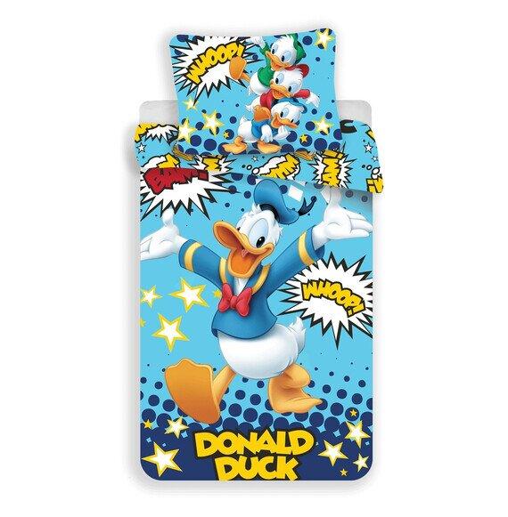 Donald kacsa 2 részes pamut-vászon gyerek ágyneműhuzat