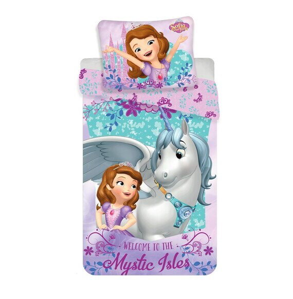 Sofia Unicornis 2 részes Disney pamut-vászon gyerek ágynemű