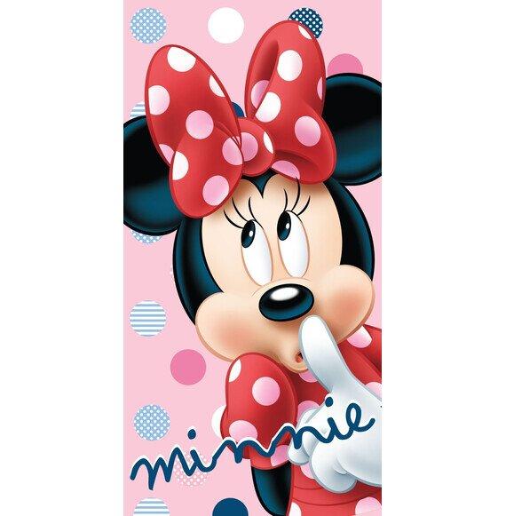 Minnie egér dots pamut törölköző 70x140 cm
