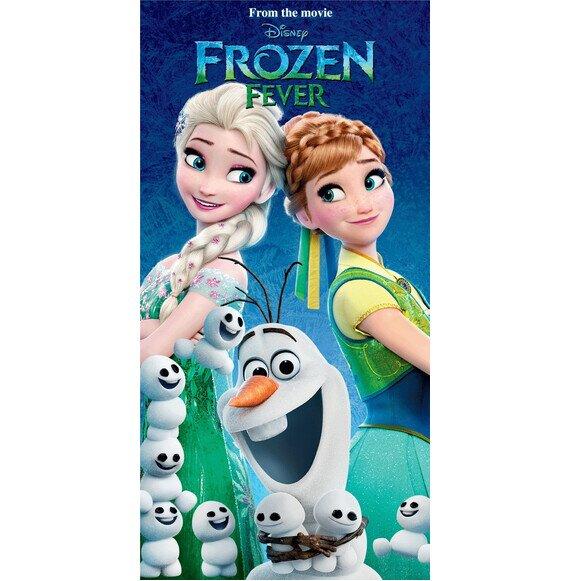 Jégvarázs fever Disney pamut törölköző 70x140 cm