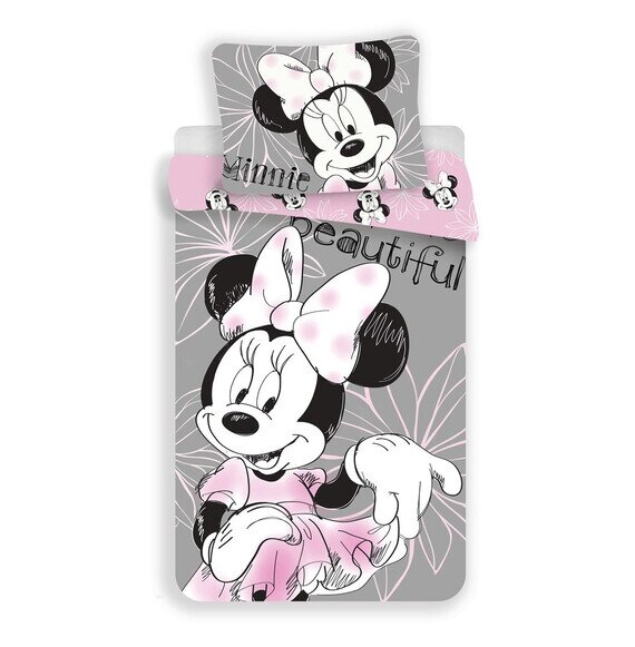 Disney Minnie egér beautiful 2 részes pamut-vászon gyerek ágyneműhuzat