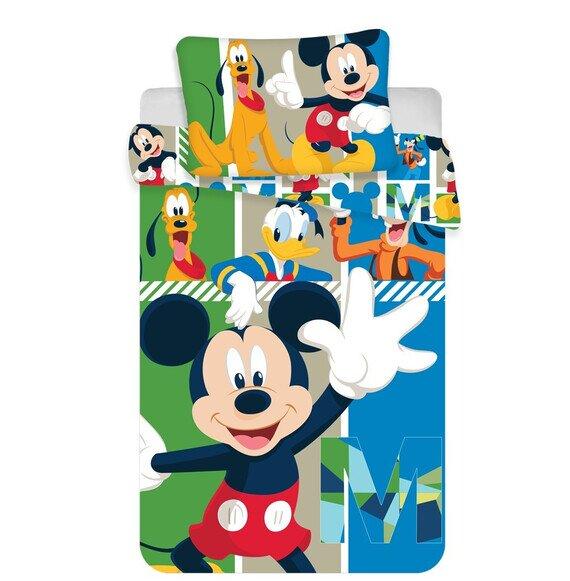 Disney Mickey egér és barátai ovis 2 részes pamut-vászon ágynemű