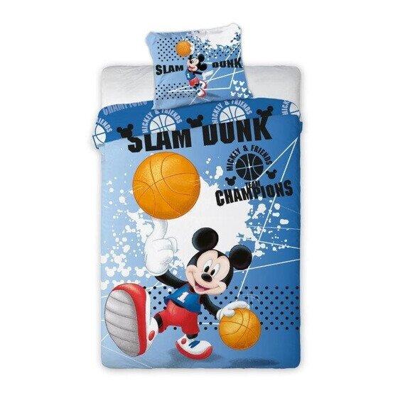 Mickey egér labdával 2 részes pamut-vászon ágyneműhuzat