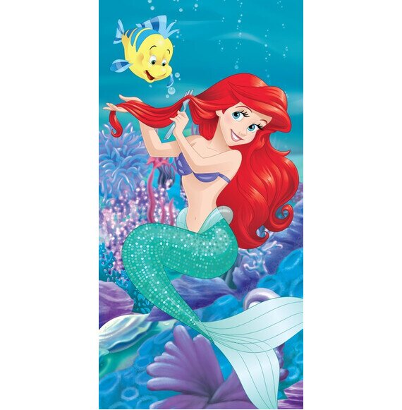 Disney Ariel a kis hableány pamut törölköző 70x140 cm