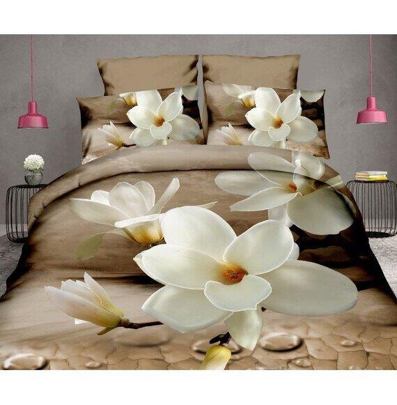 Gyonyoru magnoliak 3D pamut agynemuhuzat lepedovel