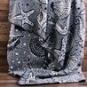 Pled ocean mintas pamut-akril 200x220cm