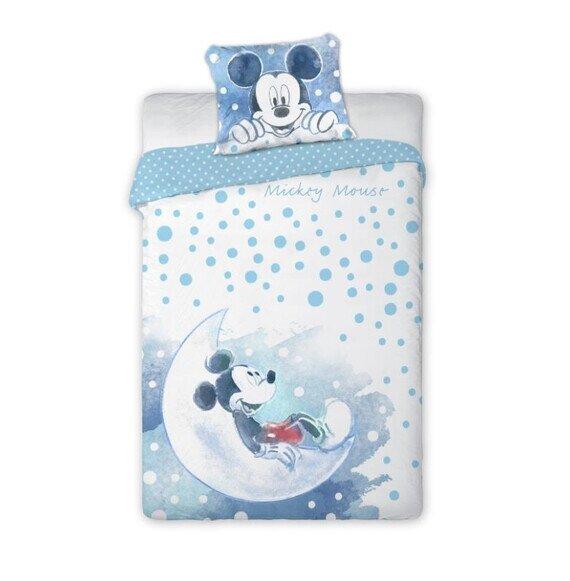 Mickey a holdon Disney pamut-vászon 100x135 cm ovis ágyneműhuzat