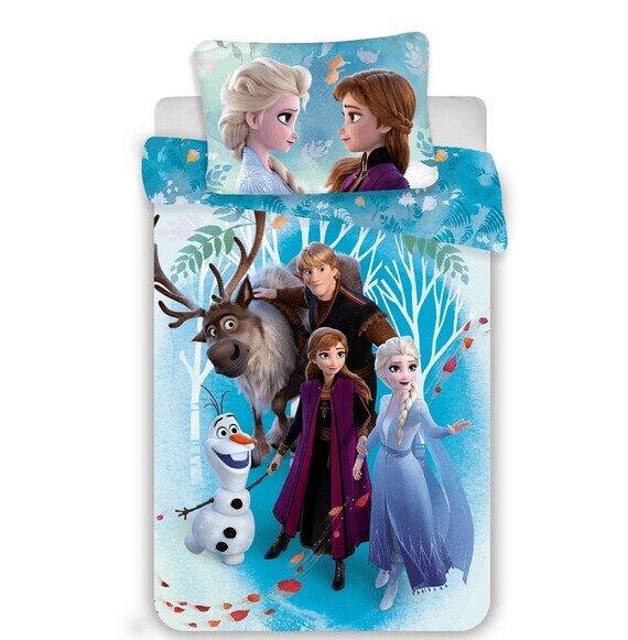 Jégvarázs family 2 részes Disney pamut-vászon gyerek ágynemű