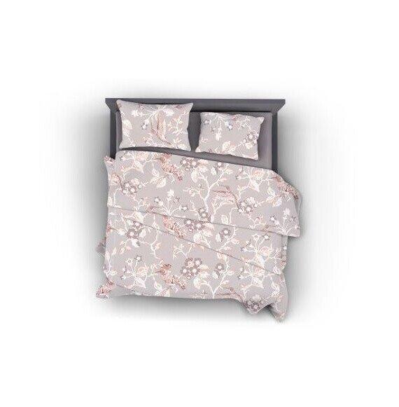 Floral pamut szatén 3 részes ágyneműhuzat