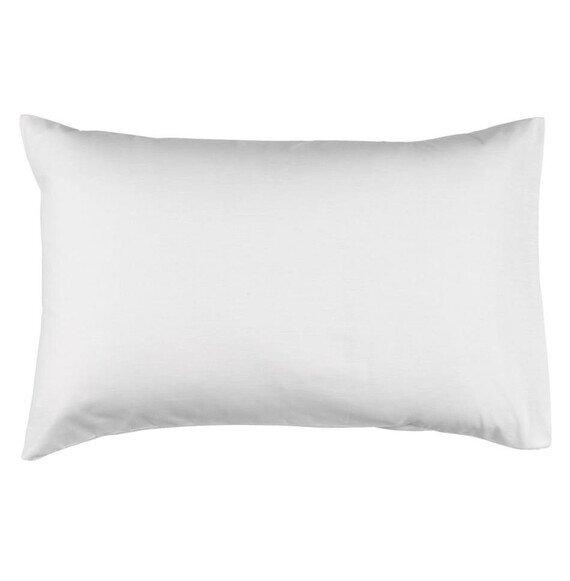 Pamut fehér párnahuzat 50x70 cm