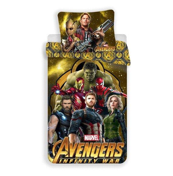 Avangers Infinity war Marvel 2 részes pamut-vászon gyerek ágyneműhuzat