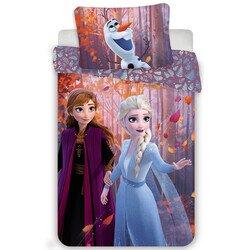 Jégvarázs 2 sister purple 2 részes Disney pamut-vászon gyerek ágynemű