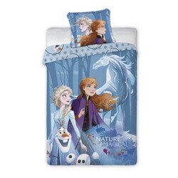 Jégvarázs frozen 2 Disney pamut-vászon gyerek ágyneműhuzat