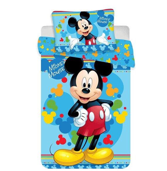 Disney Mickey egér 02 ovis 2 részes pamut-vászon ágynemű