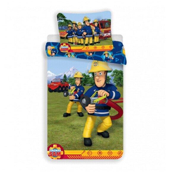 Disney Sam a tűzoltó ovis 2 részes pamut-vászon ágynemű