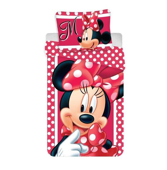 Disney Minnie egér dots 2 részes pamut-vászon gyerek ágynemű