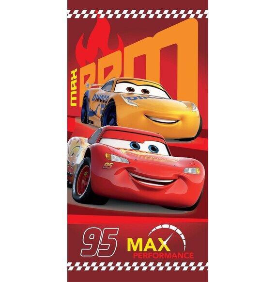 Disney Verdák 95 red pamut törölköző 70x140 cm