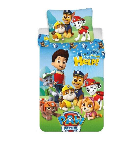 Disney Mancs Őrjárat Help 2 részes pamut-vászon gyerek ágyneműhuzat