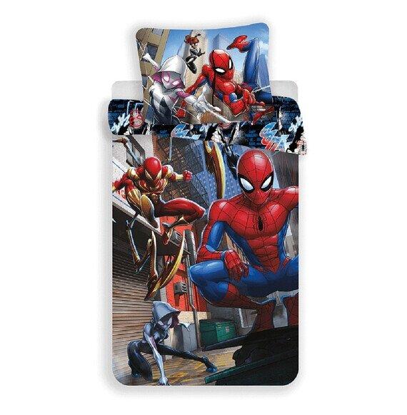 Marvel Pókember Action 2 részes pamut-vászon gyerek ágyneműhuzat