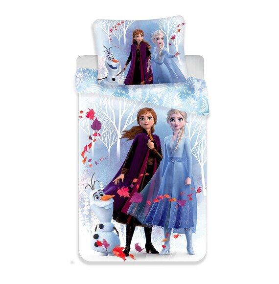 Disney Jégvarázs 02 White pamut-vászon gyerek ágynemű