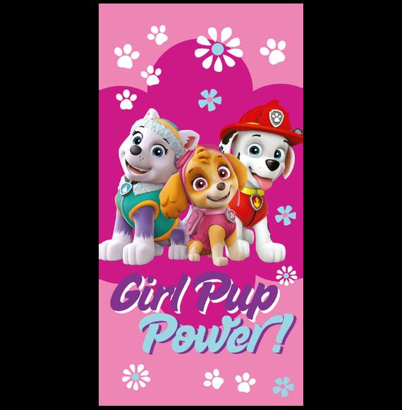 Disney Mancs õrjárat Girl Pup Power pamut törölközõ 70x140 cm