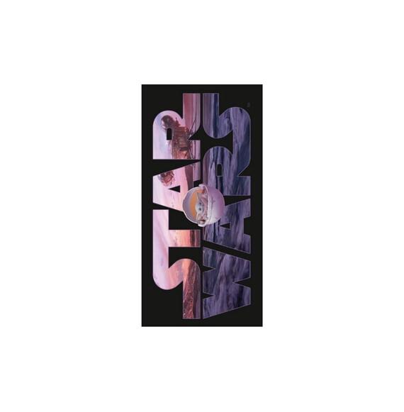 Star Wars Mandalorian pamut strandtörölközõ 70x140 cm