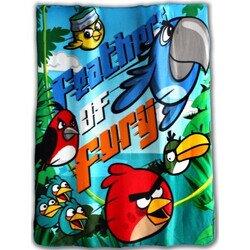 Disney Angry Birds fury polár takaró 120x140 cm