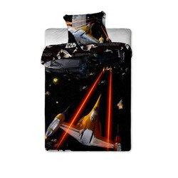 Star Wars spaceship 2 részes pamut-vászon ágyneműhuzat