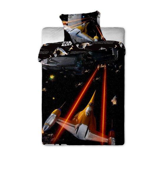Star Wars spaceship 2 reszes pamut-vaszon agynemuhuzat